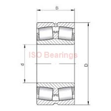 ISO 33281/33462 tapered roller bearings