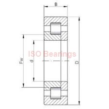 ISO NJ1932 cylindrical roller bearings