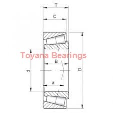 Toyana NF1992 cylindrical roller bearings