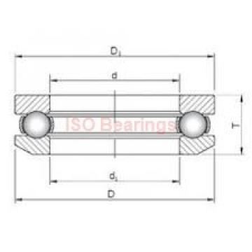 ISO 7316 B angular contact ball bearings
