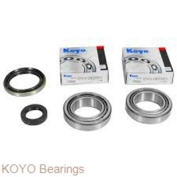 KOYO 7406B angular contact ball bearings