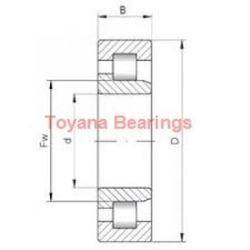 Toyana QJ1007 angular contact ball bearings
