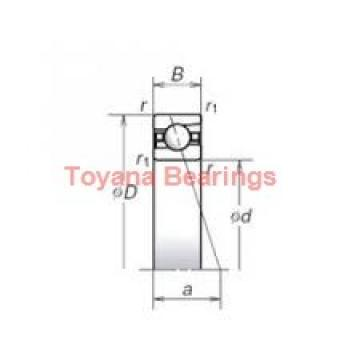 Toyana 7222 B-UO angular contact ball bearings