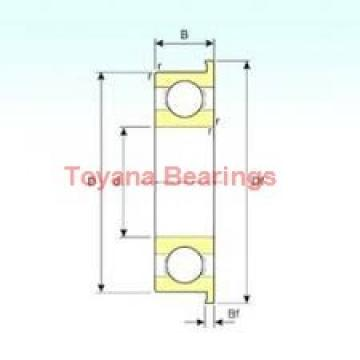 Toyana 3220 ZZ angular contact ball bearings