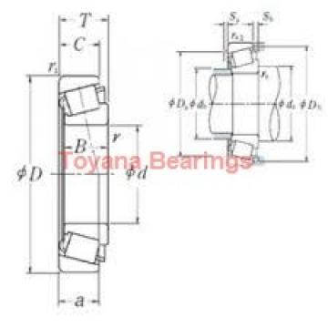 Toyana NJ419 cylindrical roller bearings