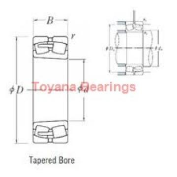 Toyana 33017 A tapered roller bearings