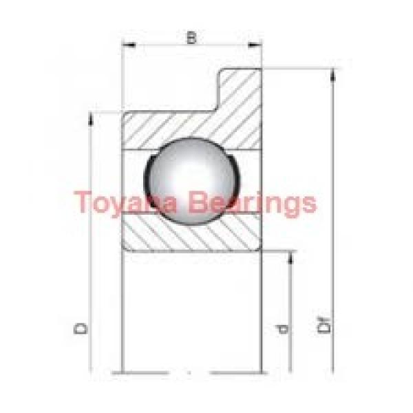Toyana 62310-2RS deep groove ball bearings #2 image