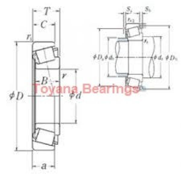 Toyana LM814849/10 tapered roller bearings #1 image
